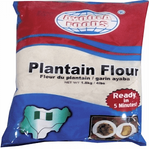 image of Ayoola Foods Plantain Flour on Now Now Express to send grocery to Nigeria