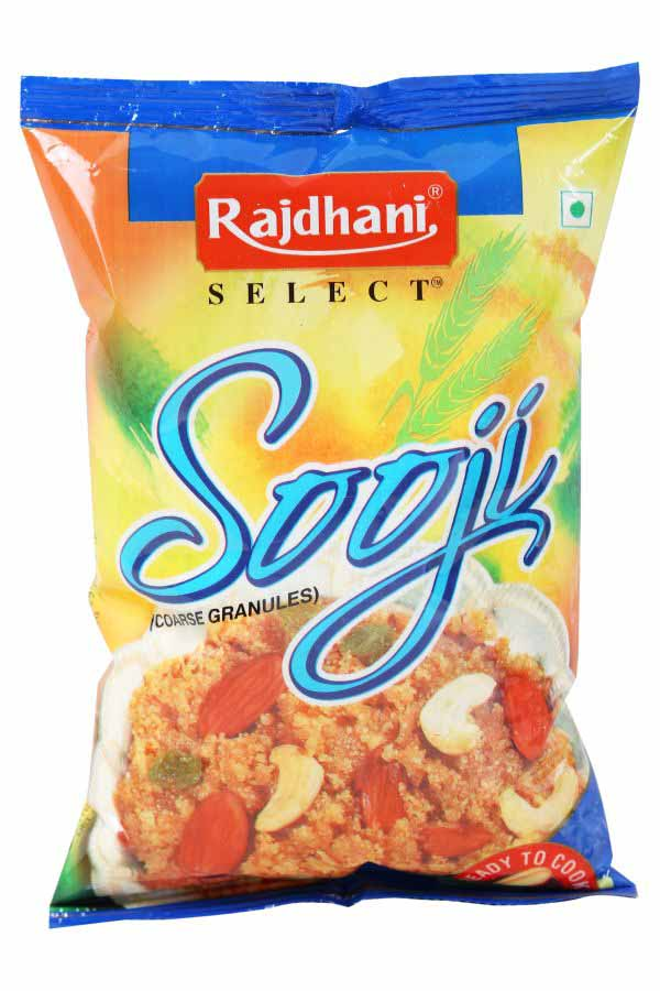 image of Rajdhani Select Sooji Flour on Now Now Express to send grocery to Nigeria