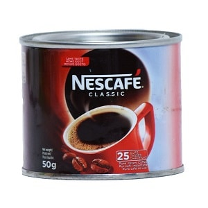 Image of Nescafe Classic Coffee Tin 50 g on Now Now Express for sending coffee to Nigeria