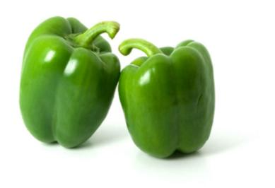 Image of farm fresh green pepper on Now Now Express for sending grocery to Nigeria