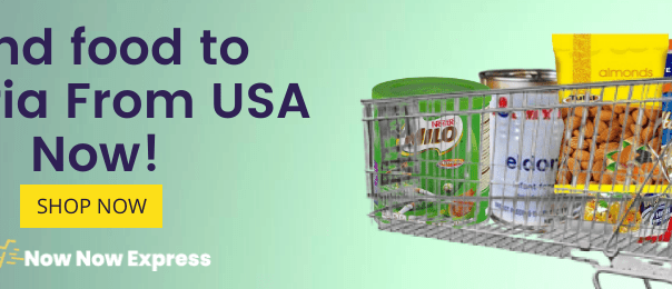 Send food to nigeria from usa now