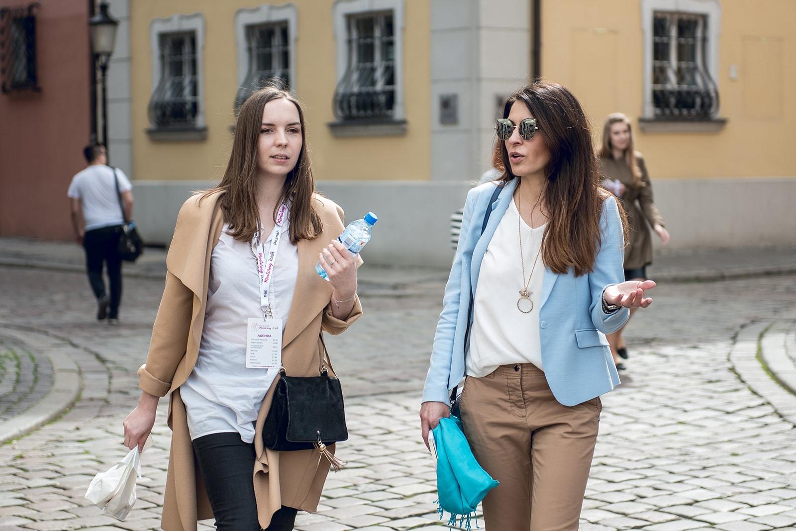 Wywiad z Olgą Kozierowską podczas Poznań Mentoring Walk 2018