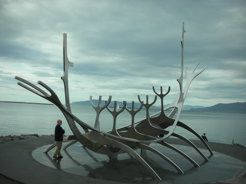 40 Sun Voyager sculpture Reykjavik