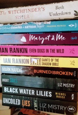 Just some of the books I've bought!