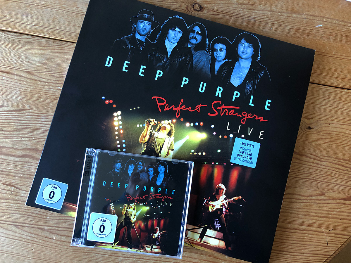 Deep Purple Vinyl and CD Perfect Strangers