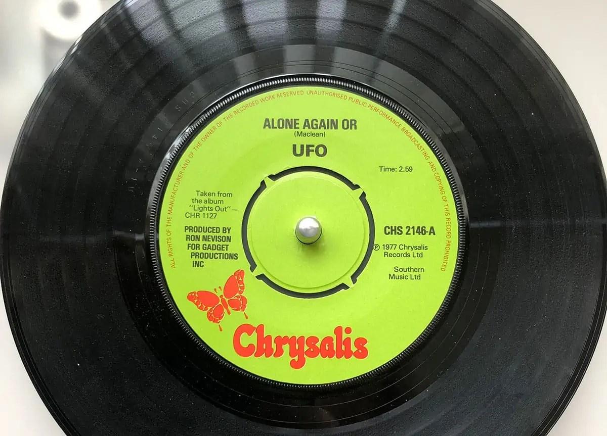 UFO Alone Again Or