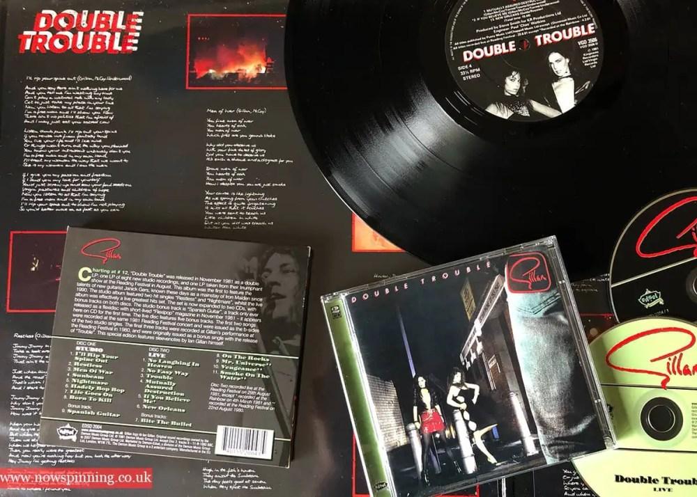 Ian Gillan Double Trouble 1981 album review