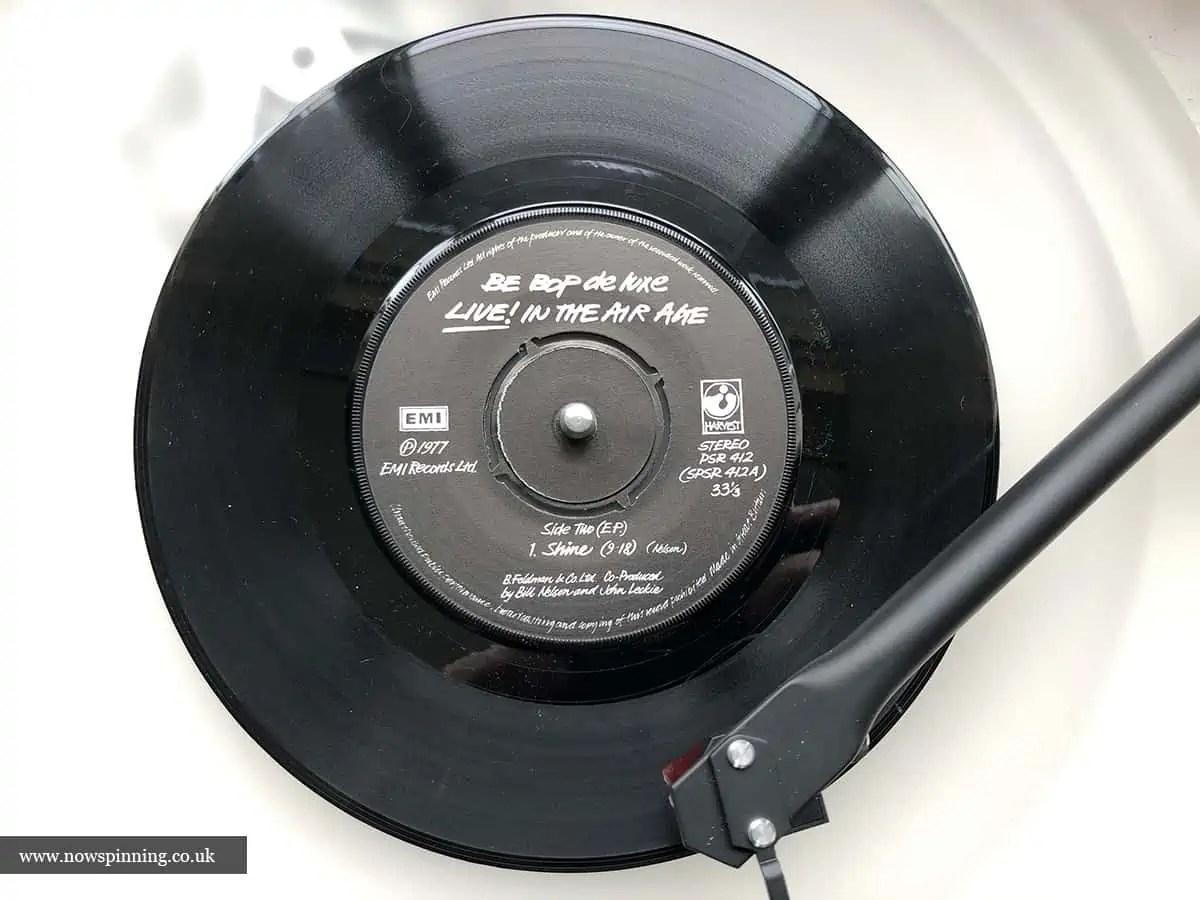 "Be Bop Deluxe Lice 7"" Single 1977"