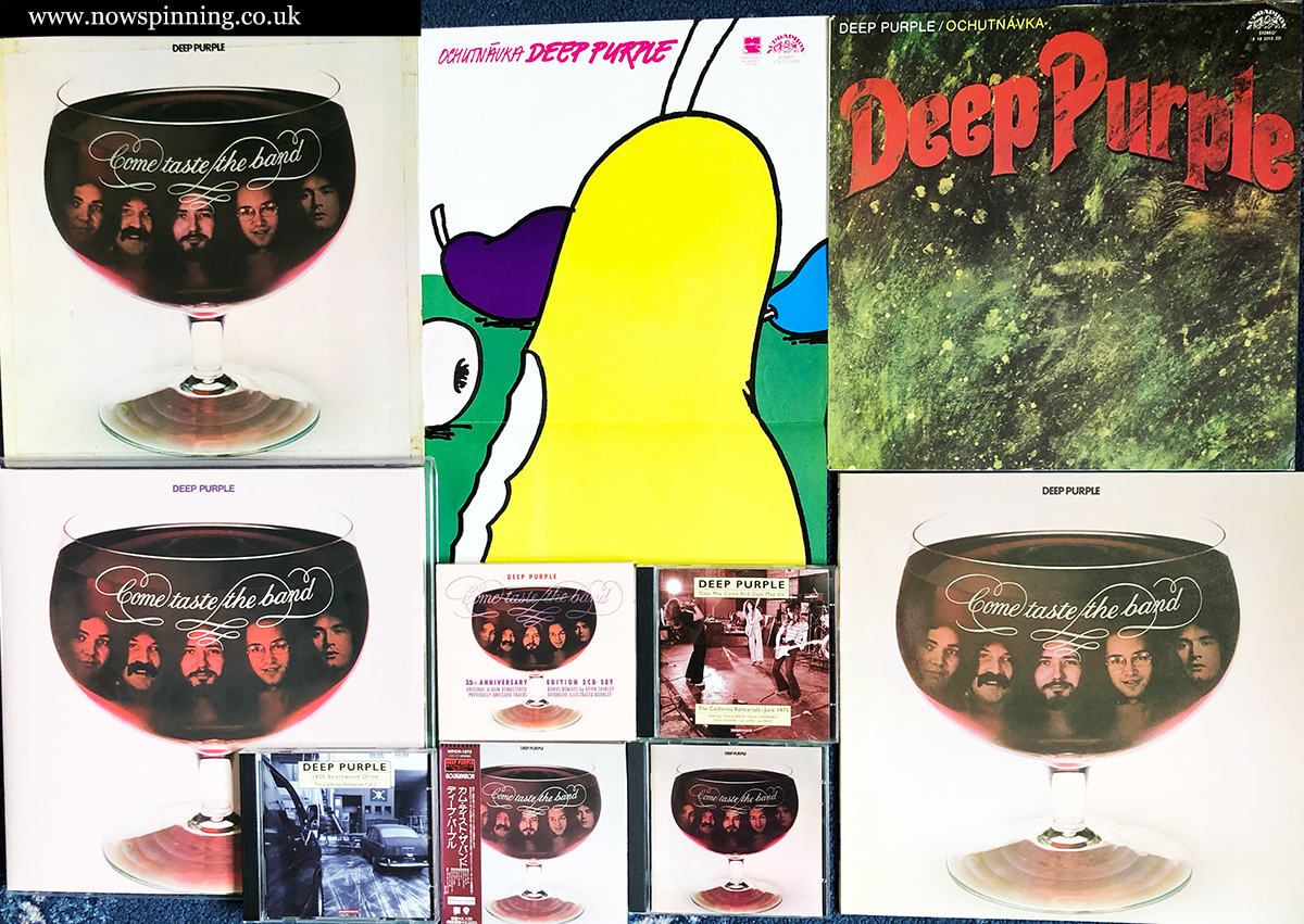 Come Taste The Band Deep Purple Collection