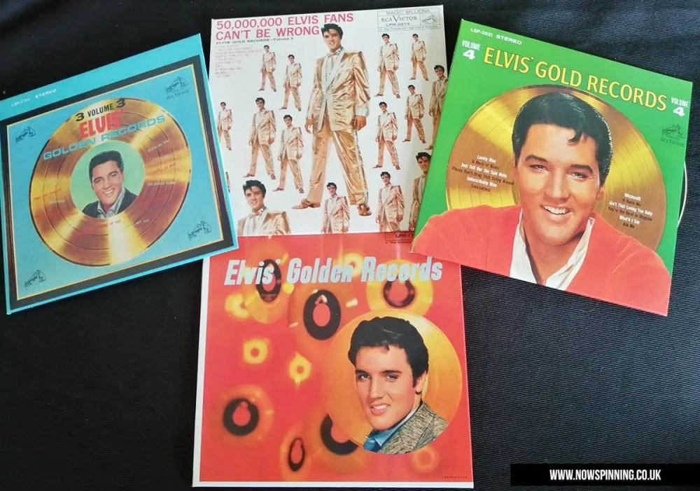 Elvis Presley Golden Records