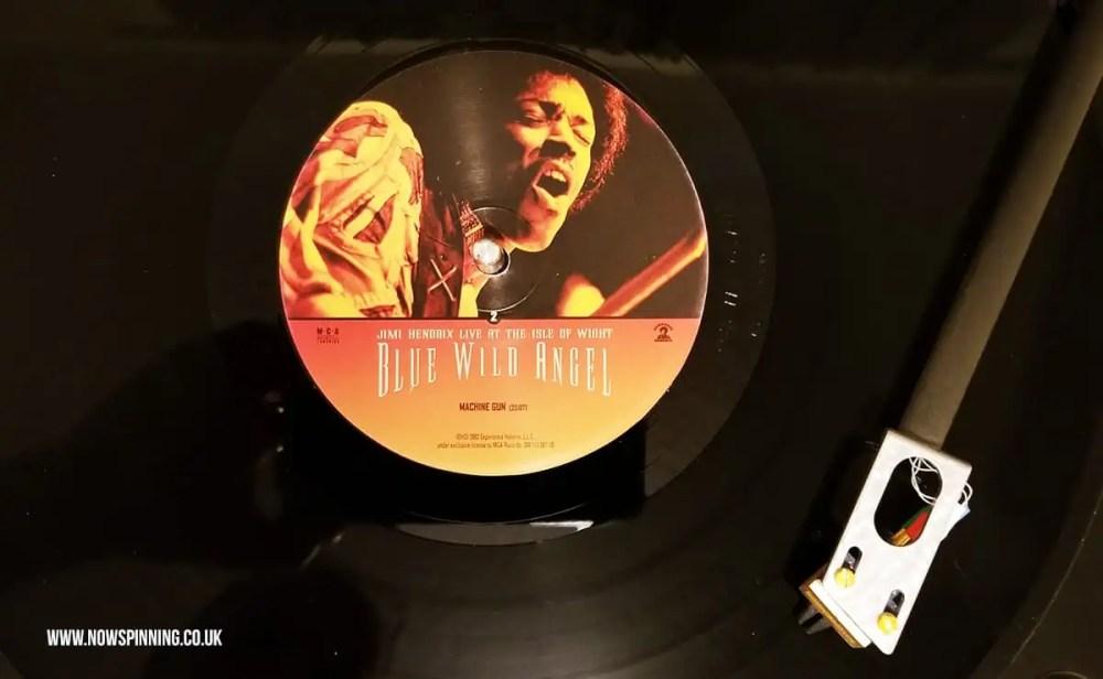 Jimi Hendrix Isle of Wight full concert vinyl