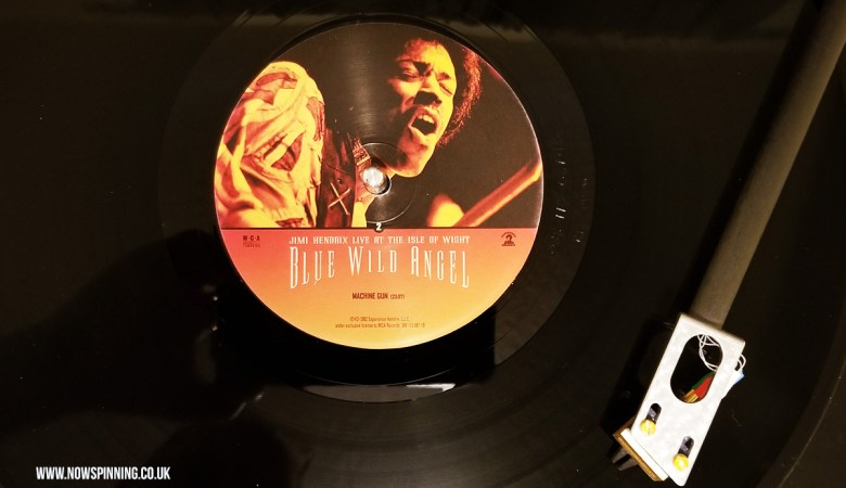 Jimi Hendrix Isle of Wight full concert vinyl
