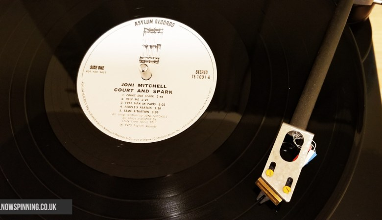 Joni Mitchell Court and Spark vinyl review