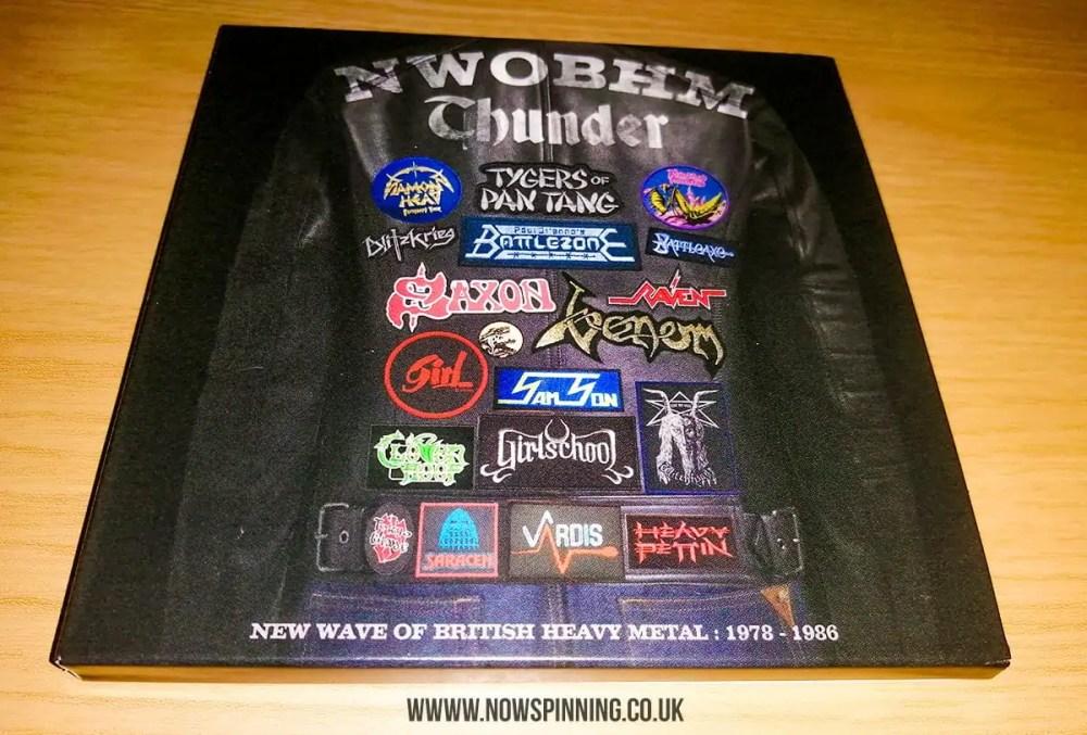 NWOBHM THUNDER: New Wave of British Heavy Metal 1978-1986 CD Box Set