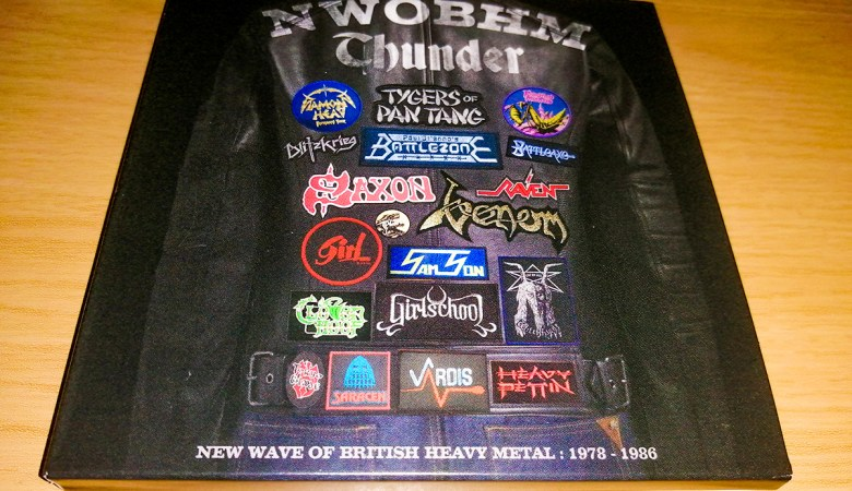 NWOBHM THUNDER: New Wave of British Heavy Metal 1978-1986 CD Box Set
