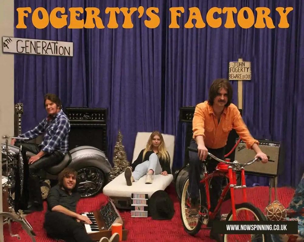 JOHN FOGERTY SET TO RELEASE 'FOGERTY'S FACTORY' ALBUM