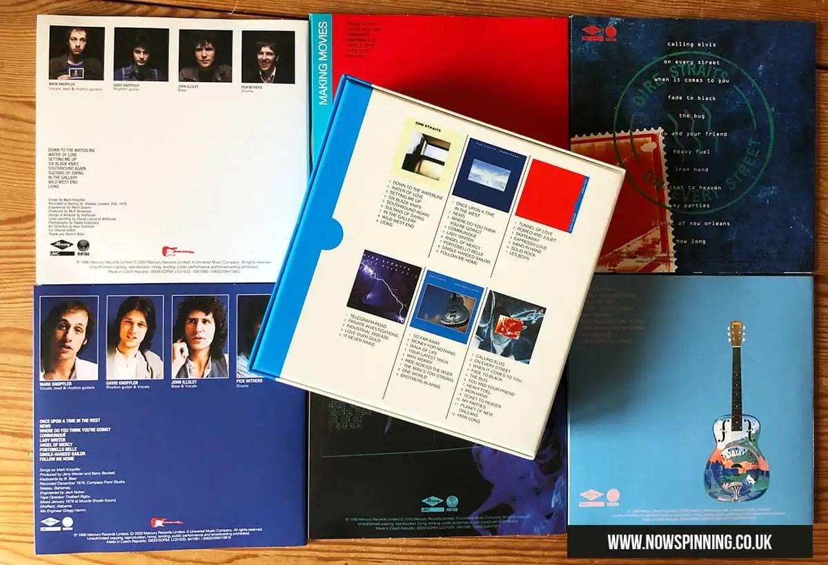 Unboxing The Dire Straits Studio Albums Box Set 1978 - 1991
