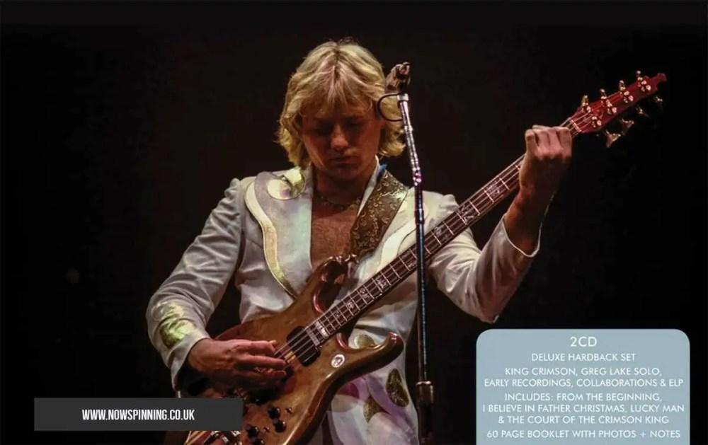 Greg Lake 2CD Anthology Review