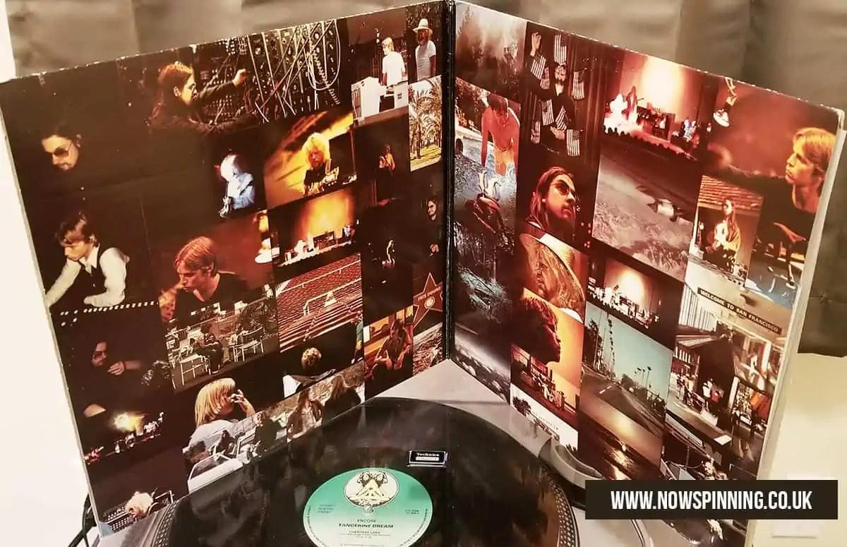 Tangerine Dream Vinyl Gatefold