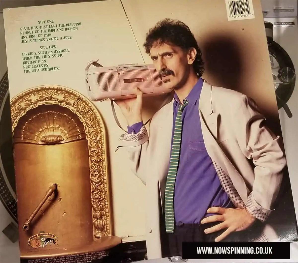 Frank Zappa Broadway The Hard Way Album Review