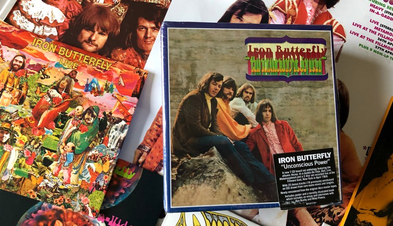 Iron Butterfly 7CD Box Set Review Unconscious Power