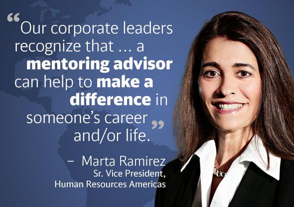 Marta Ramirez Mentoring Quote