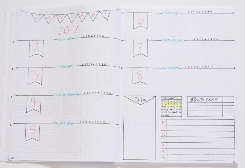 Are you looking for some bullet journal weekly spreads and trackers? These ideas are perfect for any person that likes to bullet journal! #bulletjournal #bujo #bulletjournalweekly