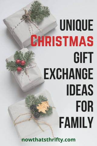 Unique Christmas Gift Exchange Ideas for Family - Now That ...