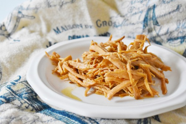Carolina Pulled Pork Crock Pot Recipe Now That S Thrifty