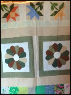 One of Becky's charity quilts.