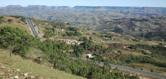 Scenery along the Ndwedwe Gran Fondo.