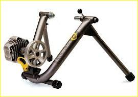 CycleOps indoor bike trainer.