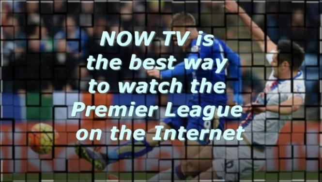 now tv watch premier league online