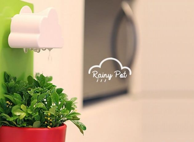 DIY-Wall-mounted-Rain-Clouds-Planters-christmas-gifts-cool-stuffs-feelgift-2
