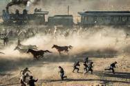 b horses and train