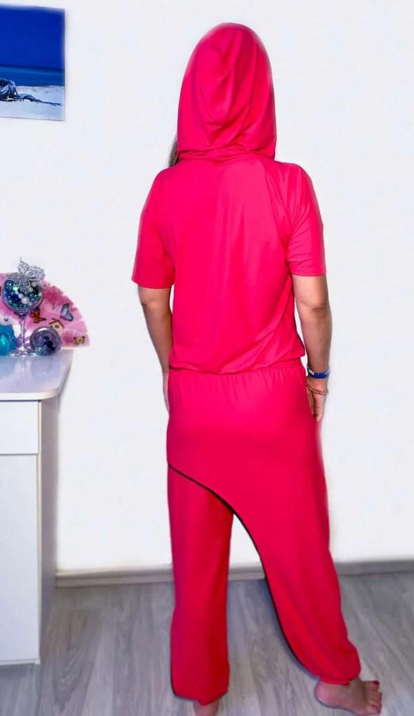 NXM-212 női szabadidő overál pink