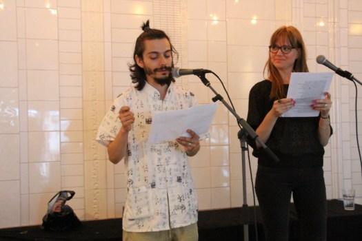 Daniel Malpica and Petronella Zetterlund