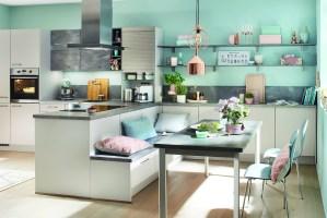 Sitzbank Küche Landhausstil Ikea Hack Gepolstert Mit ...