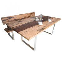 Sitzbank Mit Lehne Ikea Eiche 180 Cm Esszimmer Holz Grau ...