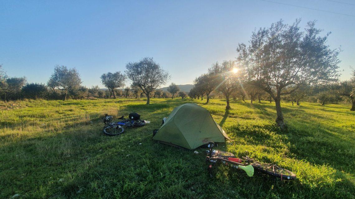 Zeitungsbericht über meine Radreise von Sevilla nach Porto