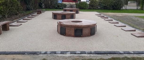 Nouvelles caves-urnes et urnes funéraires