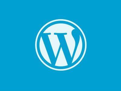 wordpress logo 400