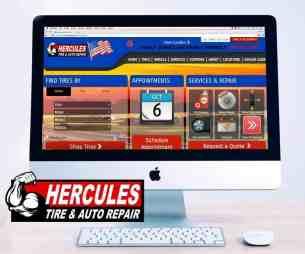 imac screen Hercules Logo