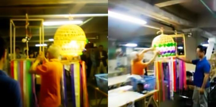 七夕まつりの市民飾り作製の説明会開催