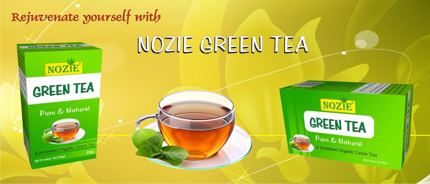 Nozie Green Tea Featured