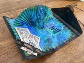 Peacock Card inside