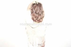 大人可愛い×外国人風カラーのミディアムヘア6