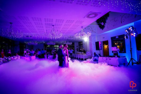 ghiaccio seco fumo pesante matrimonio primo ballo sposi