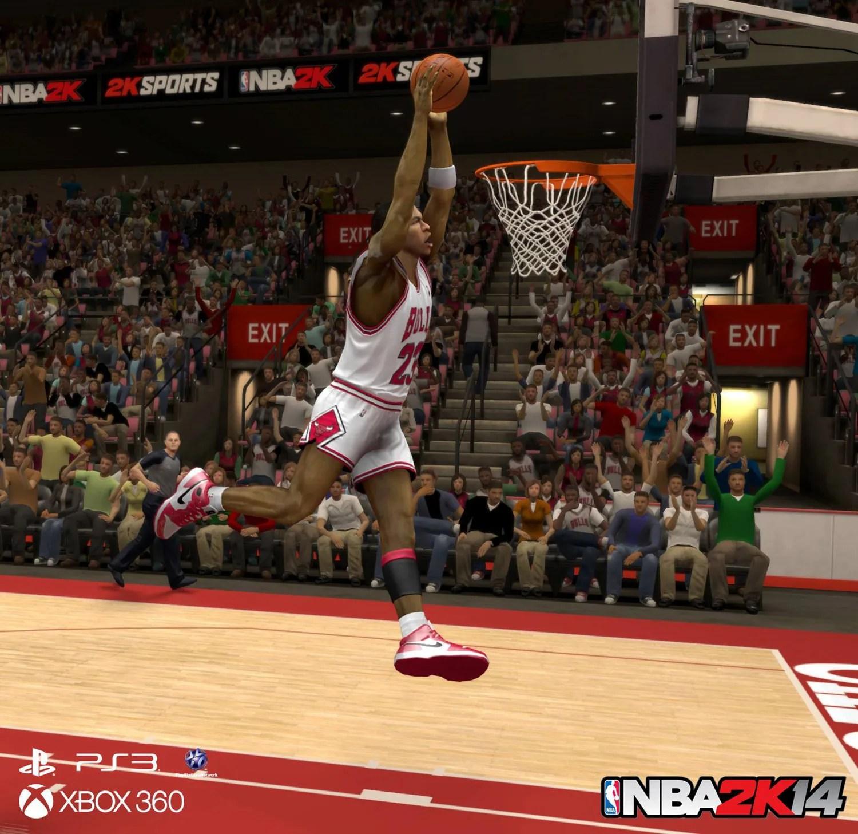 Dunker Comme Michael Jordan Dans NBA 2k14 Sur Xbox 360 Ou Ps3 Nozzhy