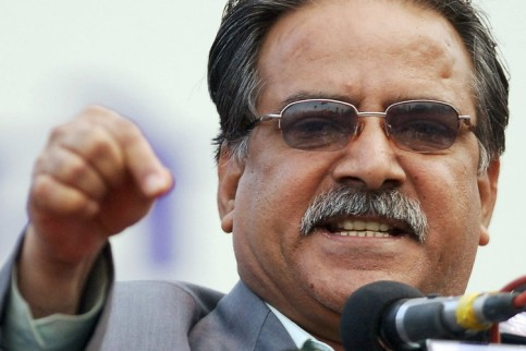 UCPN Maoist Chairman Puspa Kamal Dahal (File Photo/Reuters)